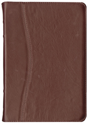 Biblia Ultrafina NVI, Piel Genuina Vino  (NVI Slimline Bible, Genuine Leather, Burgundy)  -