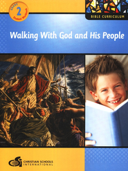 Walking with God and His People Grade 2 Student Workbook  -