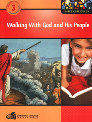 Walking with God and His People Grade 3 Student Workbook  -