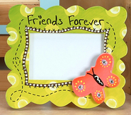 Friends Forever Photo Frame with Butterfly  -