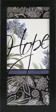 Hope, The God of Hope Framed Print  -