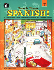 Teach Them Spanish, Grade 3   -     By: Homeschool