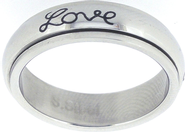 Faith Hope Love Spin Ring Size 8  -