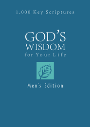God's Wisdom for Your Life: Men's Edition: 1,000 Key Scriptures - eBook  -     By: Ed Strauss