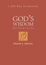 God's Wisdom for Your Life: Parents' Edition: 1,000 Key Scriptures - eBook  -     By: Tina Krause