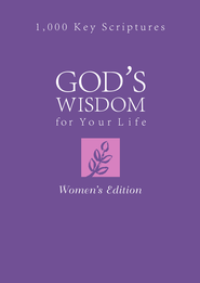 God's Wisdom for Your Life: Women's Edition: 1,000 Key Scriptures - eBook  -     By: Donna Maltese