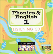 BJU Phonics & English Grade 1 Songs Audio CD   -