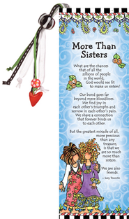 More Than Sisters Bookmark  -