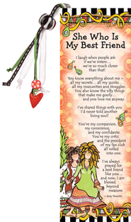 She Who Is My Best Friend Bookmark  -
