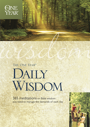 The One Year Daily Wisdom - eBook  -     By: Neil S. Wilson