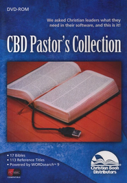 CBD Pastor's Collection on DVD-ROM - Powered by WORDsearch 9  -