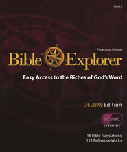 Bible Explorer 4.0 Deluxe on DVD-ROM   -