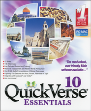 QuickVerse 10 - Essentials on DVD-ROM  -