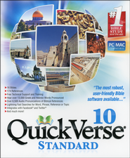 QuickVerse 10 - Standard on DVD-ROM  -
