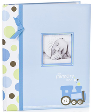 Baby Memory Book, Blue  -