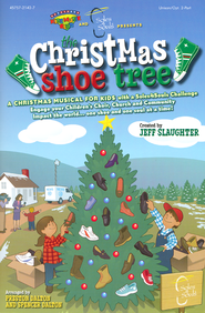 The Christmas Shoe Tree (Choral Book)   -