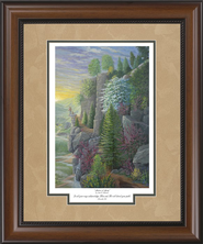 Shadows of Spring Framed Print  -     By: Jack E. Dawson