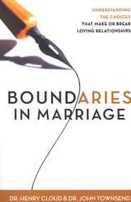 Boundaries in Marriage, Hardcover   -              By: Dr. Henry Cloud, Dr. John Townsend