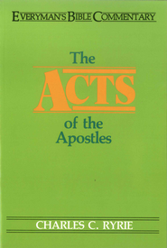 Acts of the Apostles- Everyman's Bible Commentary - eBook  -     By: Charles C. Ryrie