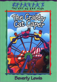 The Crabby Cat Caper, Cul-de-Sac Kids #12   -     By: Beverly Lewis