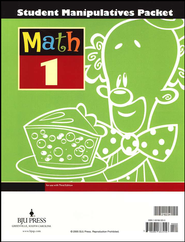 BJU Math Grade 1 Student Manipulatives, Third Edition    -