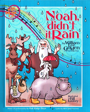 Noah, Didn't It Rain? Book and CD   -     By: William Lee Golden