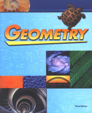 BJU Geometry Student Text, Grade 10, Third Edition    -