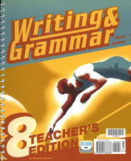 BJU Writing & Grammar Grade 8, Teacher's Edition    -