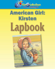 American Girl Meet Kirsten Lapbook - PDF Download  [Download] -              By: Cyndi Kinney, Shelby Kinney