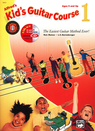Alfred's Kid's Guitar Course 1, Book & CD   -     By: Ron Manus, L.C. Harnsberger