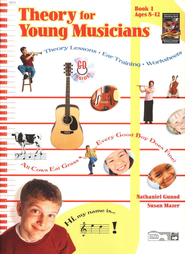 Theory for Young Musicians, Book 1 & CD   -     By: Nathaniel Gunod, Susan Mazer