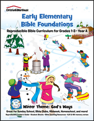 Bible Foundations Curriculum Grades 1-3 Winter, Year A - PDF Download  [Download] -     By: Christian Ed Publishers