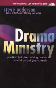 Drama Ministry with CD-Rom   -     By: Steve Pederson
