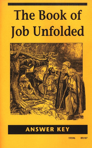 The Book of Job Unfolded, Answer Key   -     By: Homeschool