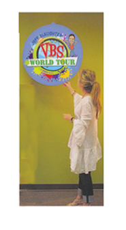 Jeff Slaughter VBS World Tour: VBS World Tour Hanging Globe  -
