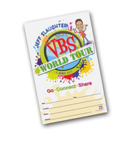 Jeff Slaughter VBS World Tour:  VBS Promotional Poster Set (Set of 10)  -