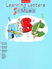 Callirobics ABC Learning Letters to Music   -     By: Liora Laufer
