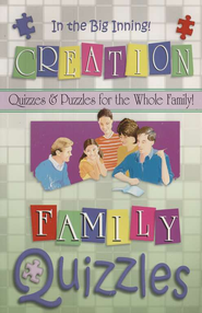 Family Quizzles: In the Big Inning-Creation   -     By: Roger Howerton