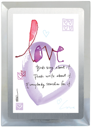 Love Binds Musical Frame  -              By: Kathy Davis