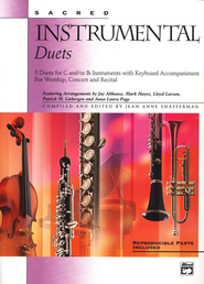 Sacred Instrumental Duets, Book Only   -