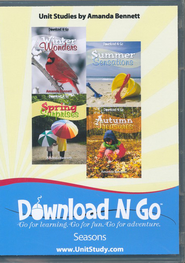 Download N Go Seasons Series CD-Rom   -     By: Amanda Bennett