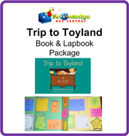 Trip to Toyland! Book & Lapbook Package - PDF Download  [Download] -     By: Elizabeth Jackson Forest, Cyndi Kinney