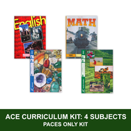 ACE Core Curriculum Kit (4 Subjects), PACEs Only, Grade 6, 3rd Edition  -