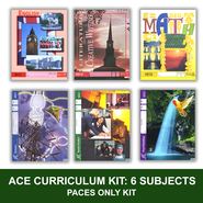 ACE 6-Subject Curriculum Kit, PACES Only, Grade 2, 3rd Ed.   -