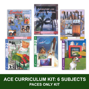 ACE 6-Subject Curriculum Kit, PACES Only, Grade 3, 3rd Ed.   -