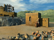 Parable of the Two Builders  [Download] -              By: Eikon Bible Art