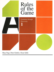 Rules Of The Game, Book #1   -              By: Mary Page
