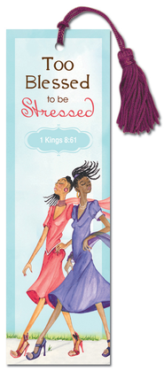 Too Blessed Bookmark  -