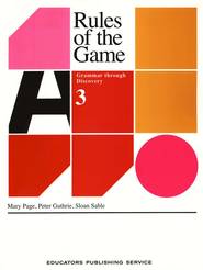 Rules Of The Game, Book #3   -     By: Mary Page