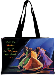 Praises Go Up--Tote Bag   -